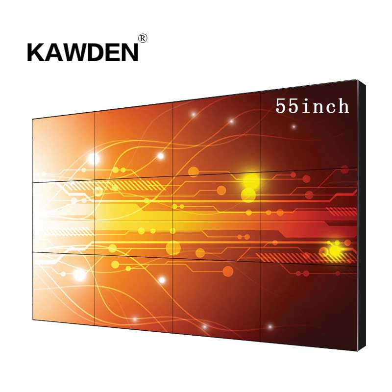 55inch 3.5mm  ultra-narrow beze high definition LCD Video Wall