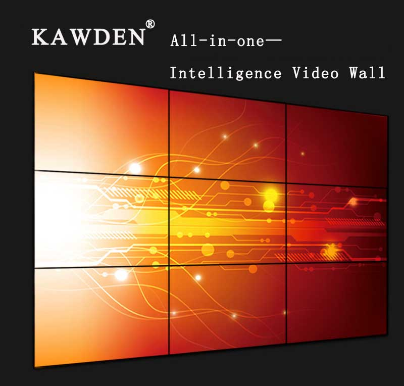 KAWDEN  ALL-IN-ONE—INTELLIGENCE DISTRIBUTION LCD VIDEO WALL