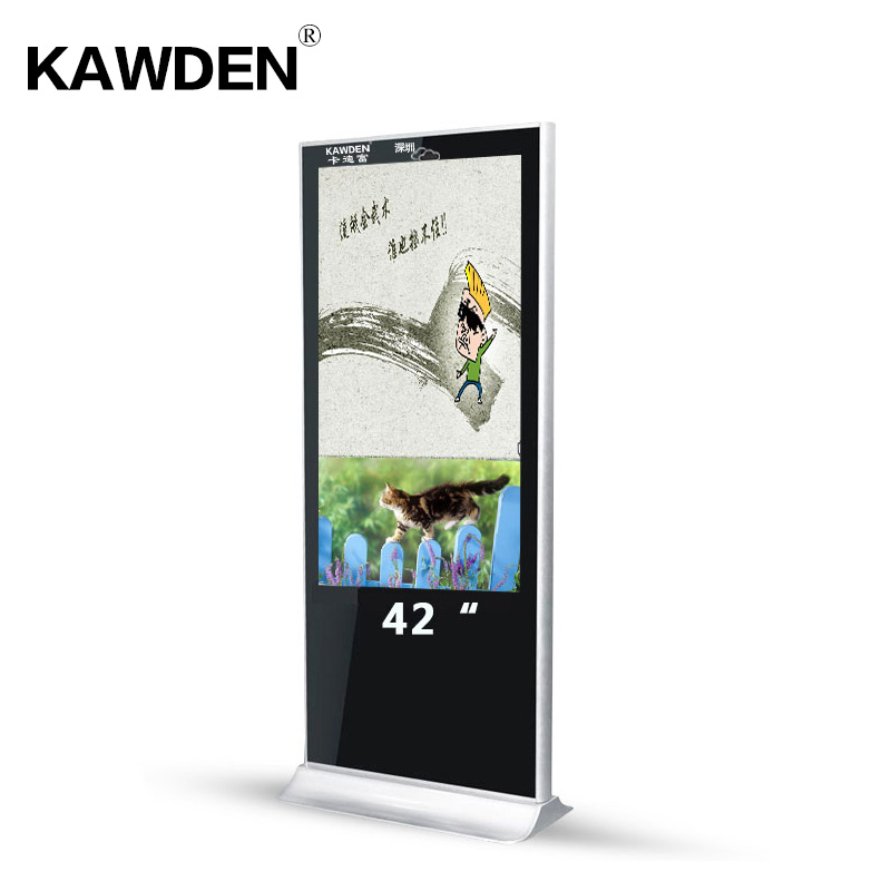 42inch standalone multimedia stand-floor advertising machine