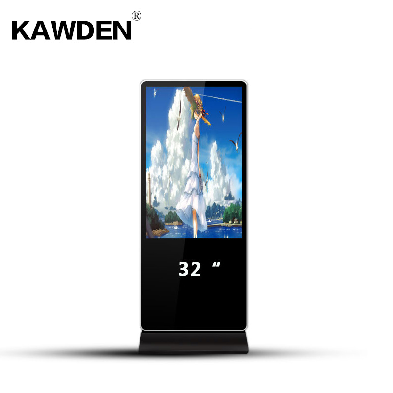32inch android system multimedia stand-floor advertising machine