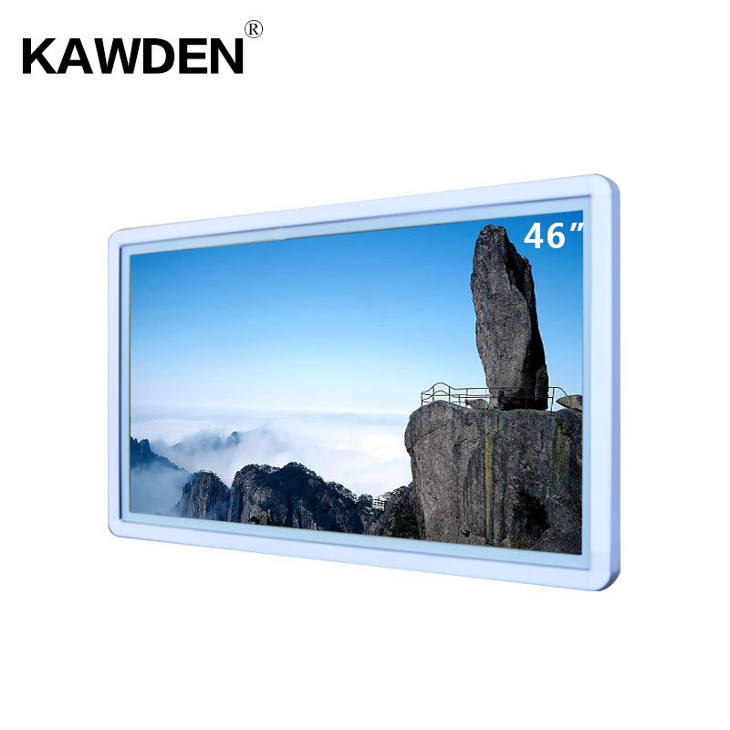 46inch wall-mounted high definition LCD touch screen adversting machine