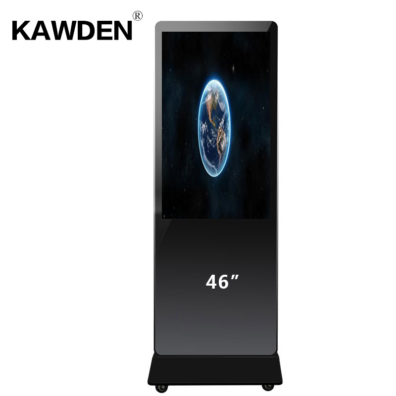 46inch stand-floor high definition multimedia android system touch screen query