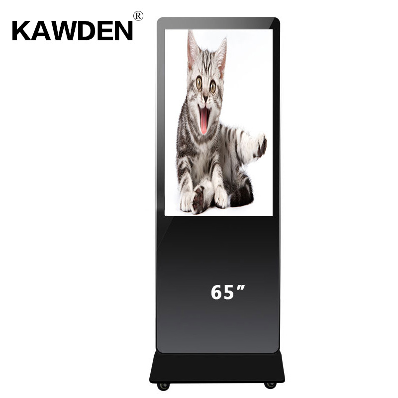 65inch stand-floor high definition android system LCD touch screen query machine