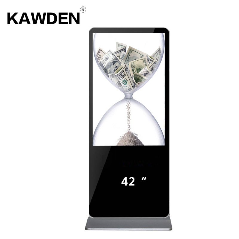 42inch stand-floor high definition PC system multimedia LCD touch screen query m
