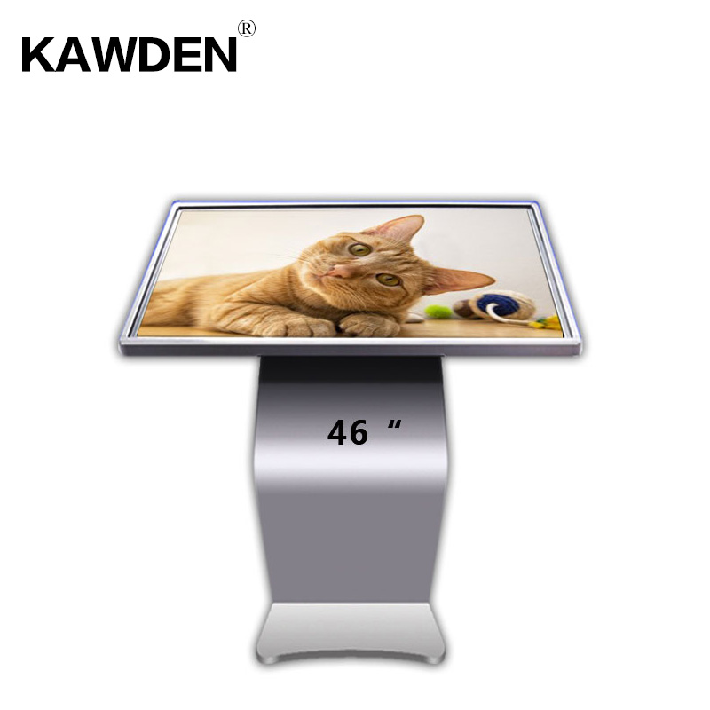 46inch K type high definition multimedia LCD touch screen query machine