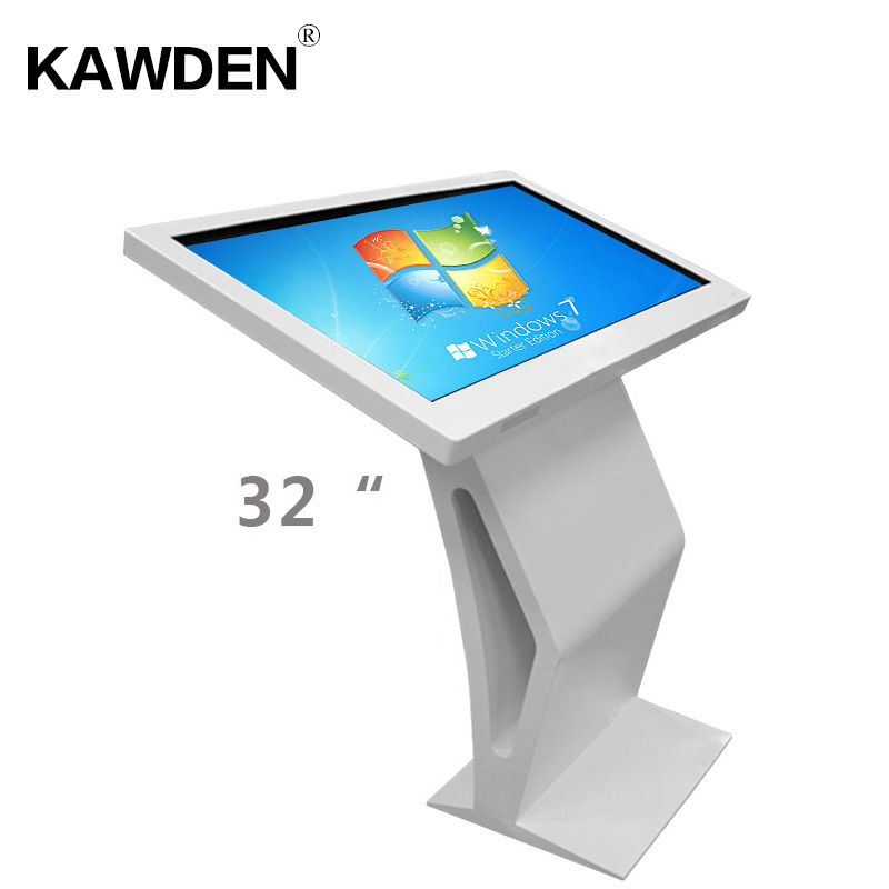 32inch K type high definition PC system multimedia LCD touch screen query machin