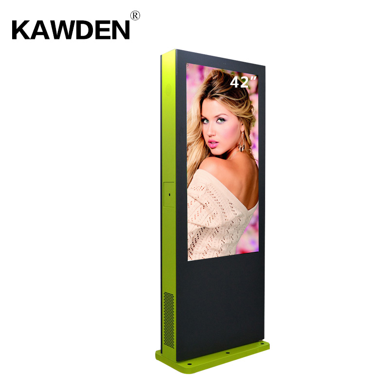 42inch KAWDEN stand-floor air-conditioner system vertical screen kiosk