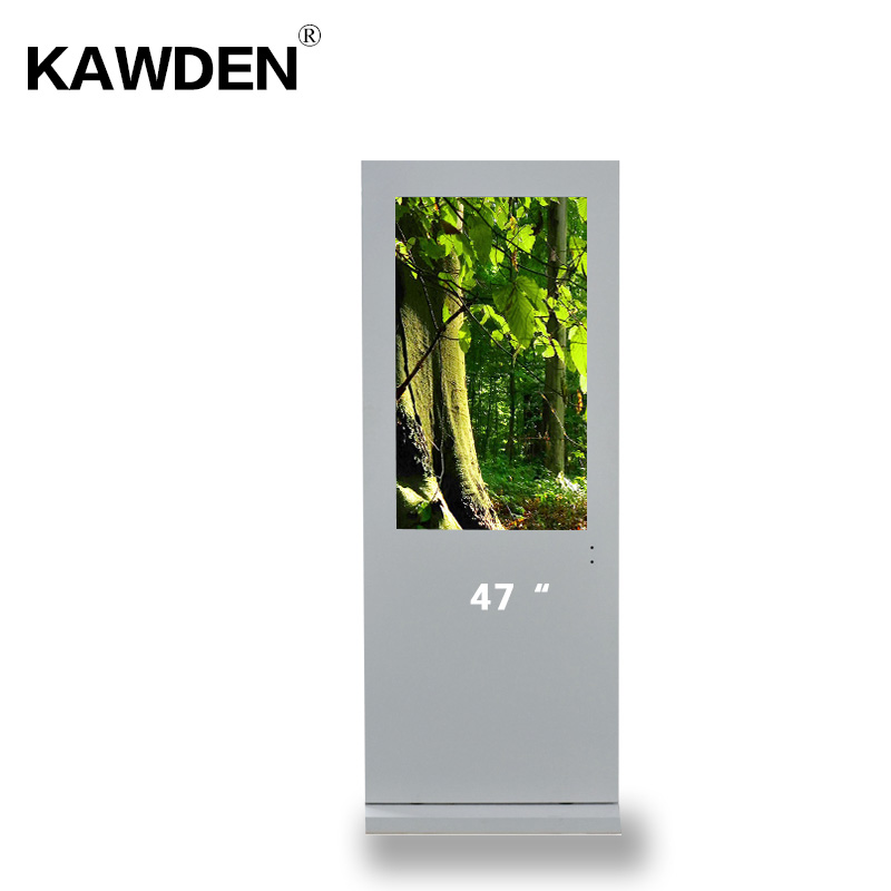 47inch stand-floor air-cooled system vertical screen kiosk