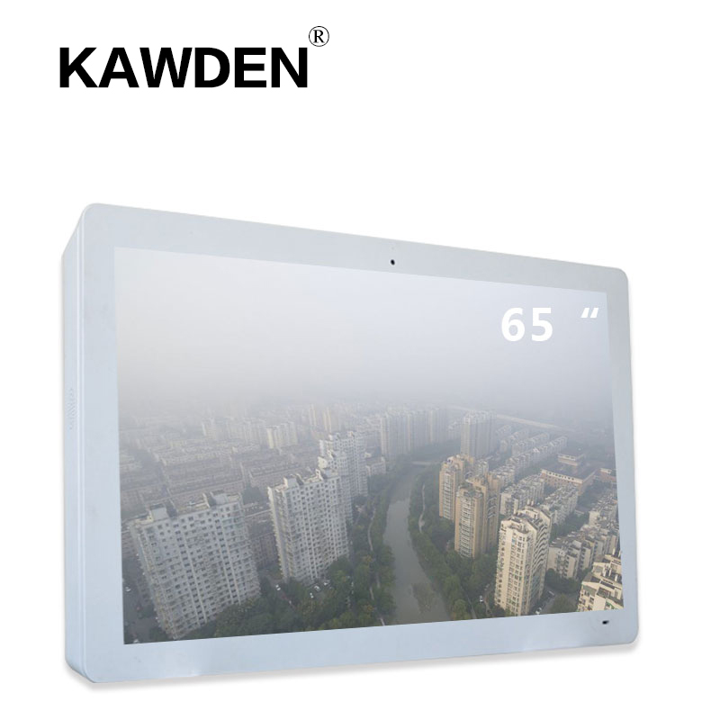 65inch KAWDEN wall-mounted air cooled type horizontal screen kiosk
