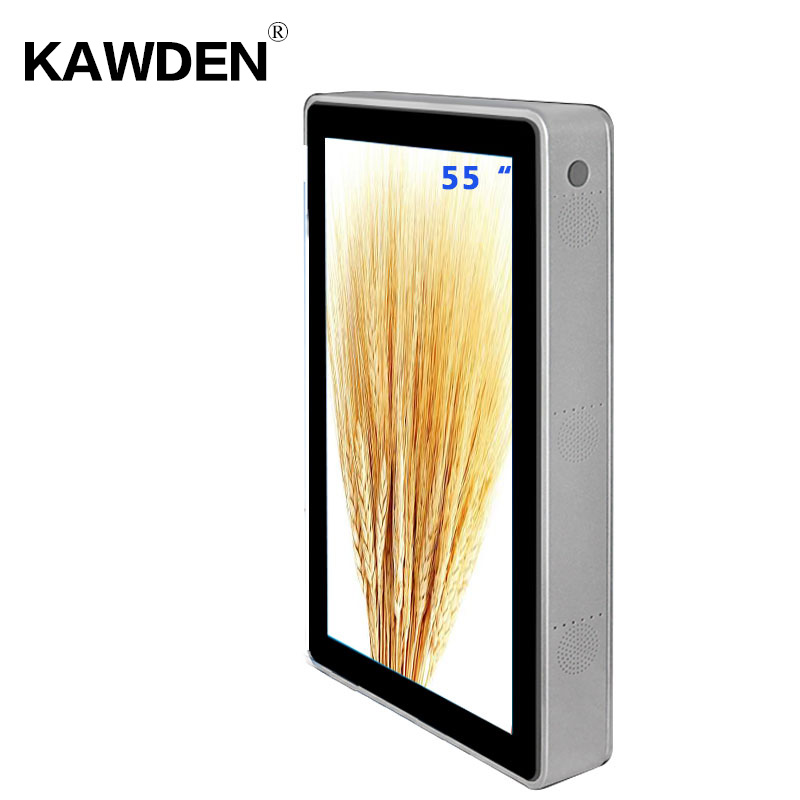 55inch KAWDEN wall-mounted air-conditioner type vertical kiosk
