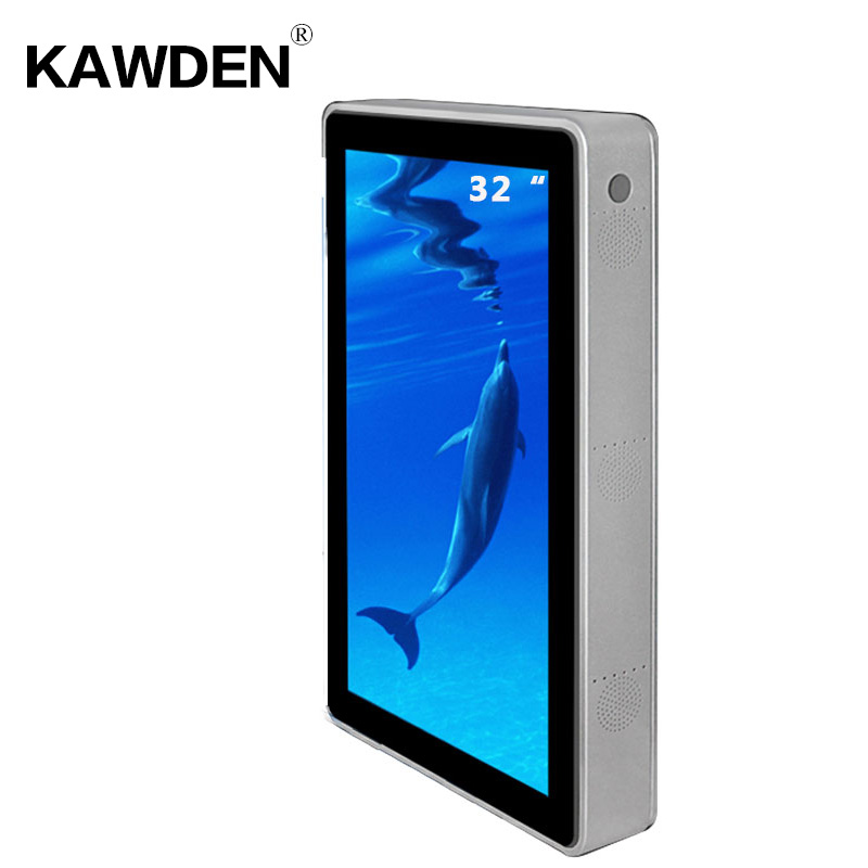 32inch KAWDEN wall-mounted air-conditioner type vertical screen kiosk